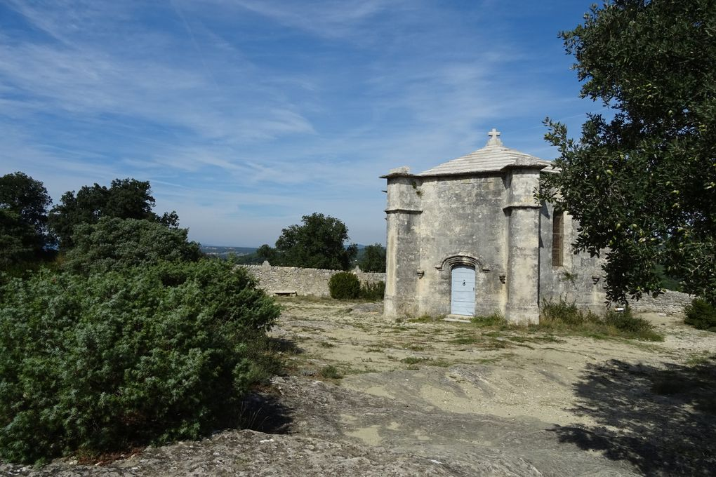 La chapelle du Saint Sépulcre à Saint Restitut.