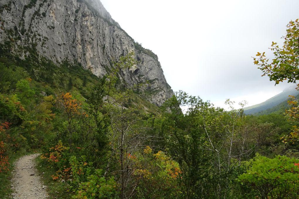 Des sentiers en balcon comme on en rêve, à la montée comme à la descente ils sont ma-gni-fi-ques !