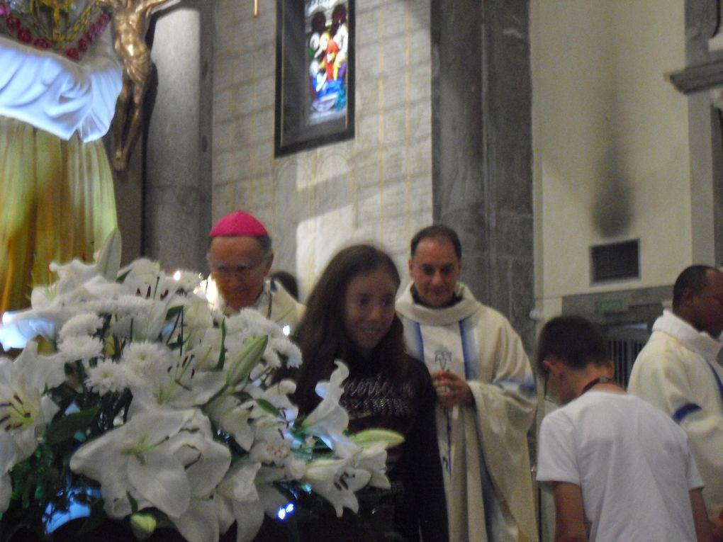 Les 6èmes participent à l'anniversaire de l'apparition de la Vierge Marie à La Salette