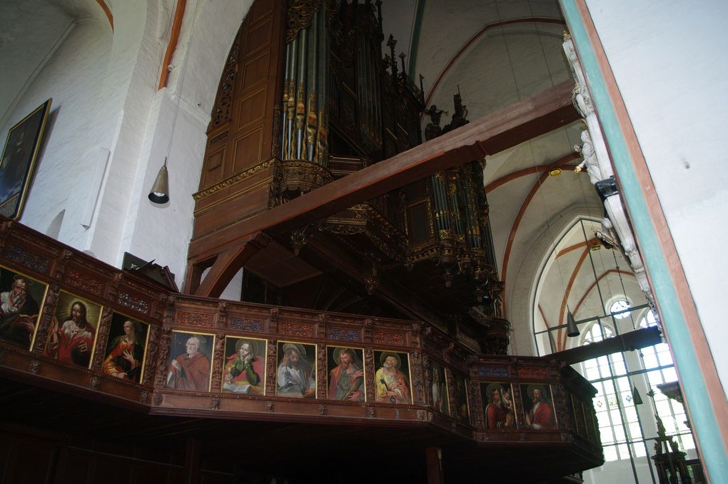 orgue du XVIe à l'église st Jacques