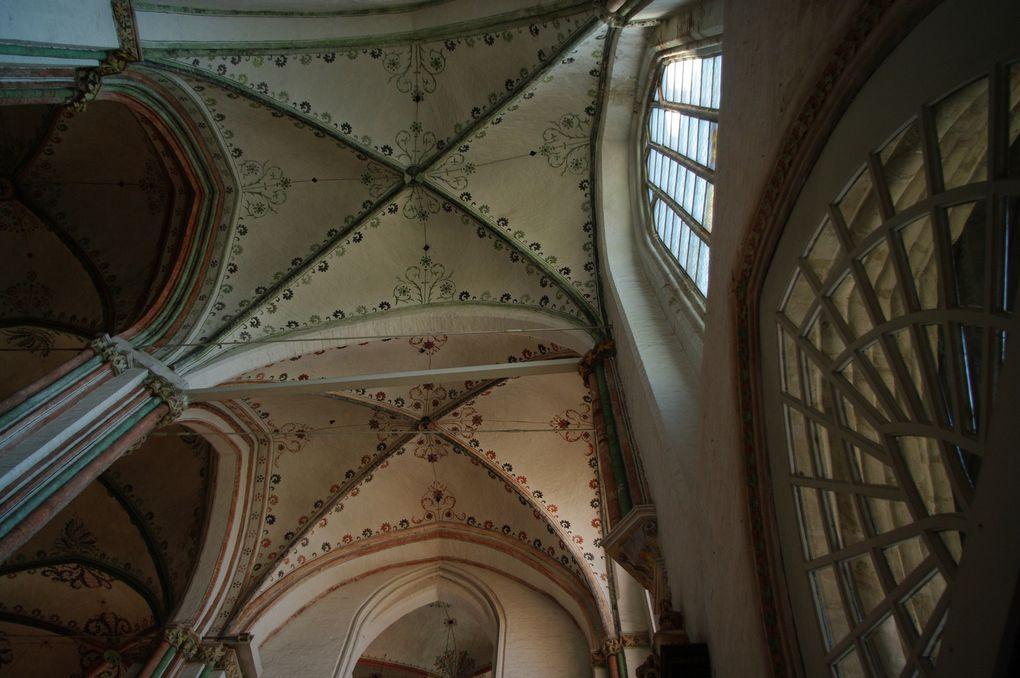 église ste Marie, une des plus belles églises gothique en brique d'Allemagne