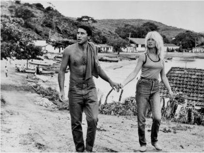 Brigitte Bardot au Brésil...