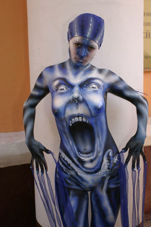 BEST BODY PAINTINGS - LA PEINTURE CORPORELLE