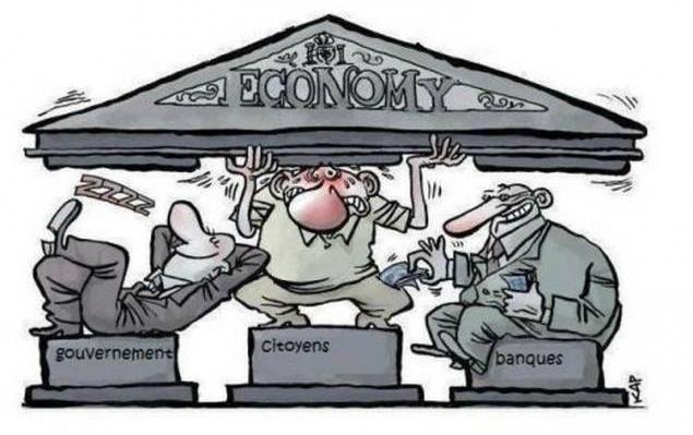 C'est pas une 'crise', c'est la plus grande escroquerie de tous les temps...