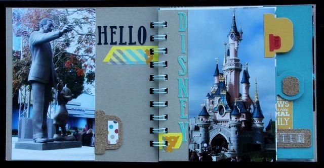 Mini Album Disney et Bonne Année