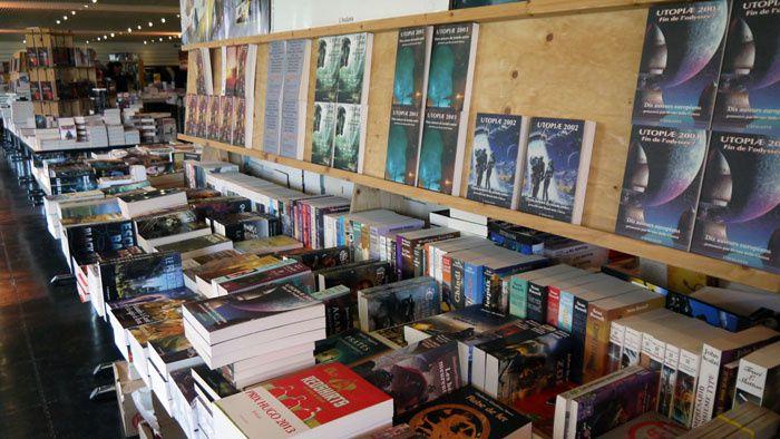 Utopiales 2014 J1 : librairie