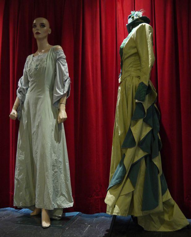 Exposition de costumes, association Des aiguilles & des costumes, Utopiales 2015