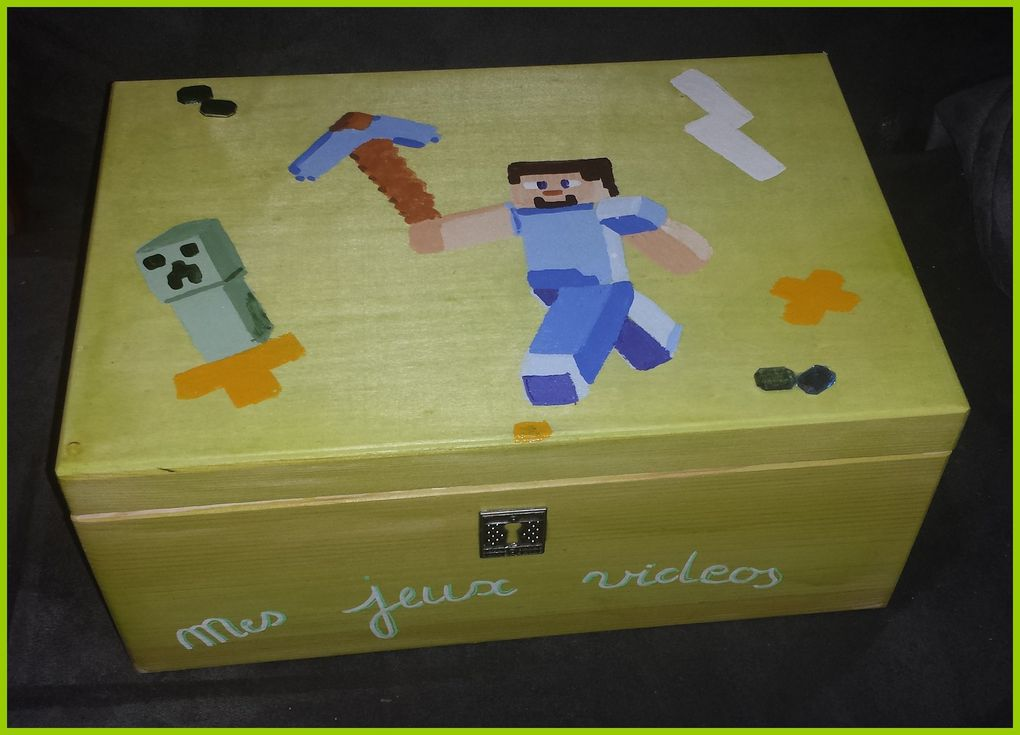 Coffret jeux videos Minecraft