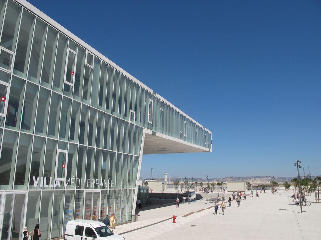 Vieux Port-Mucem-Villa Méditerranée-Bonne Mère-Stade Vélodrome