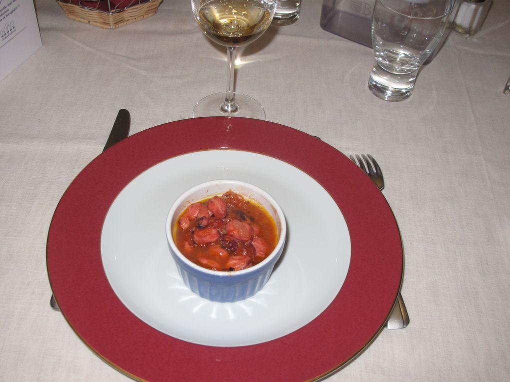 Repas dégustation avec Moncuit, Bollinger, Foreau, Rayas, Meo-Camuzet, Roumier, Barral, Lenoir, Château des Charmes