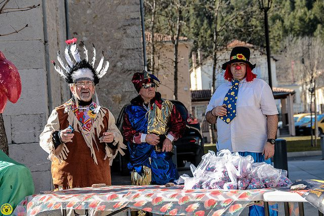 ST André les Alpes , Carnaval réussi