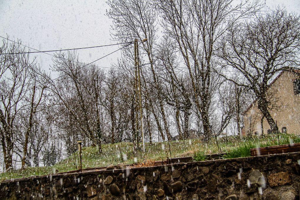 Les giboulées de mars à la Mure Argens