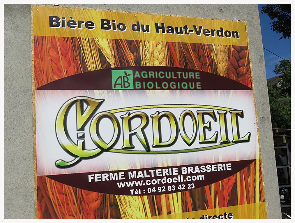 Thorame Basse : A la santé de la brasserie Cordoeil !