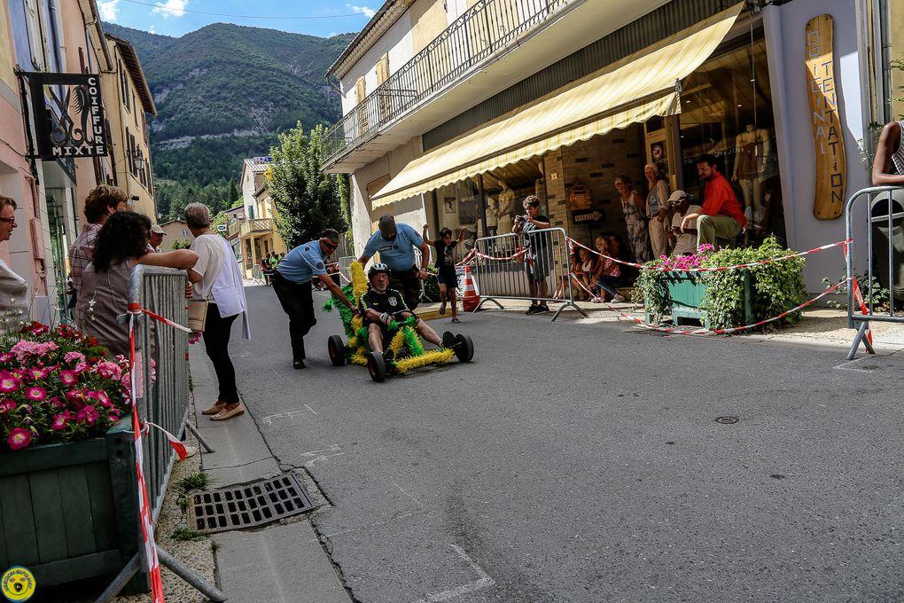 St André les Alpes  : Course caisses à savon