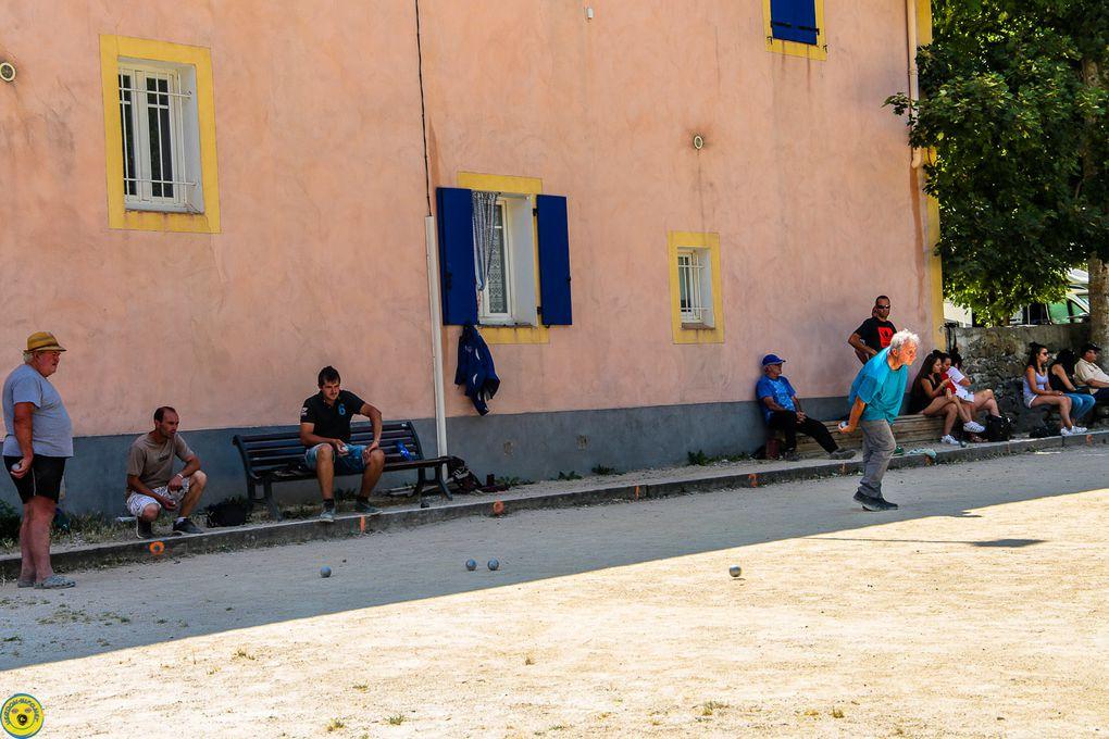 St André les Alpes  : Challenge  bouliste Edith Chatain