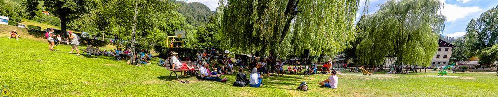 Jazz des remparts deuxième édition organisé par la commune de Colmars les Alpes et l'association SO WHAT.