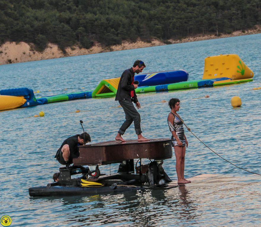 Lac de Castillon: Le piano du lac  a enchanté le public