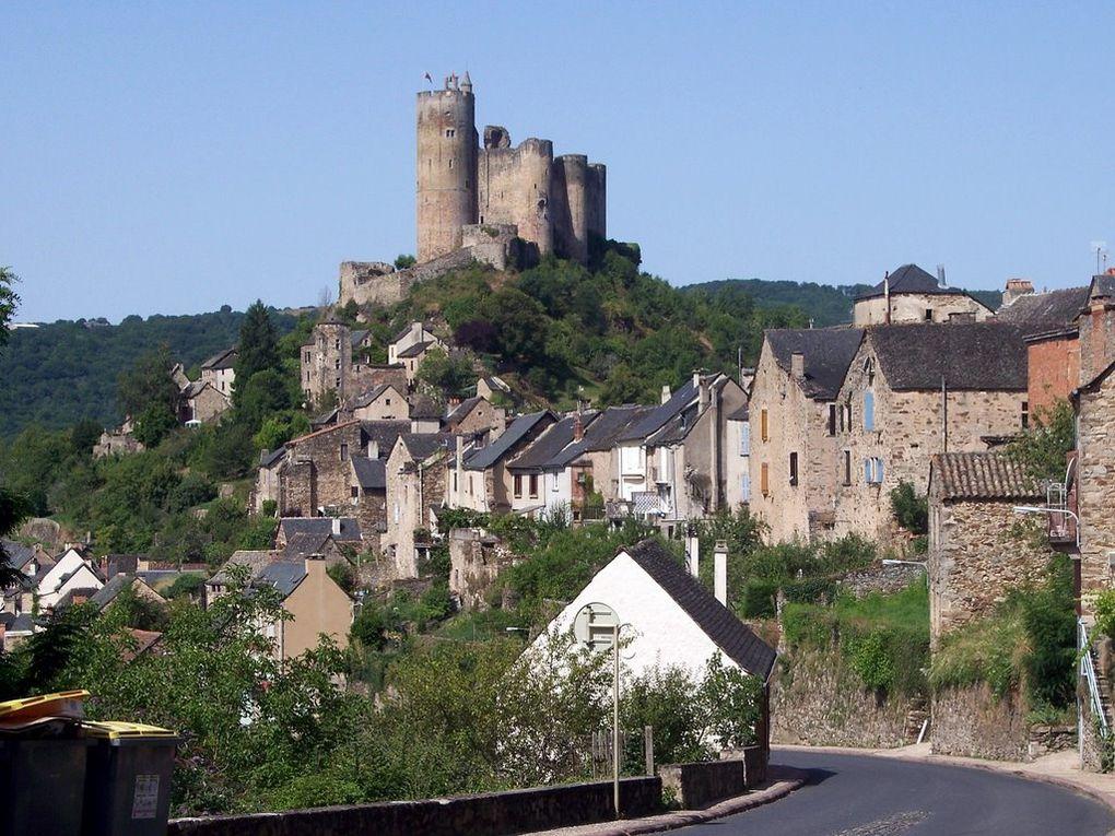 Najac, village médiéval