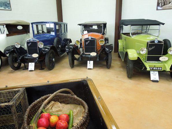 Quelques uns des 200 camions du conservatoire de la Fondation Marius BERLIET