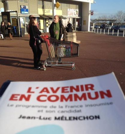 Une quinzaine de mobilisation normale pour la France Insoumise rochelaise