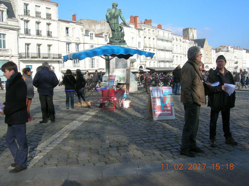 17 février : grand succès de la 2éme rencontre rochelaise avec la France insoumise