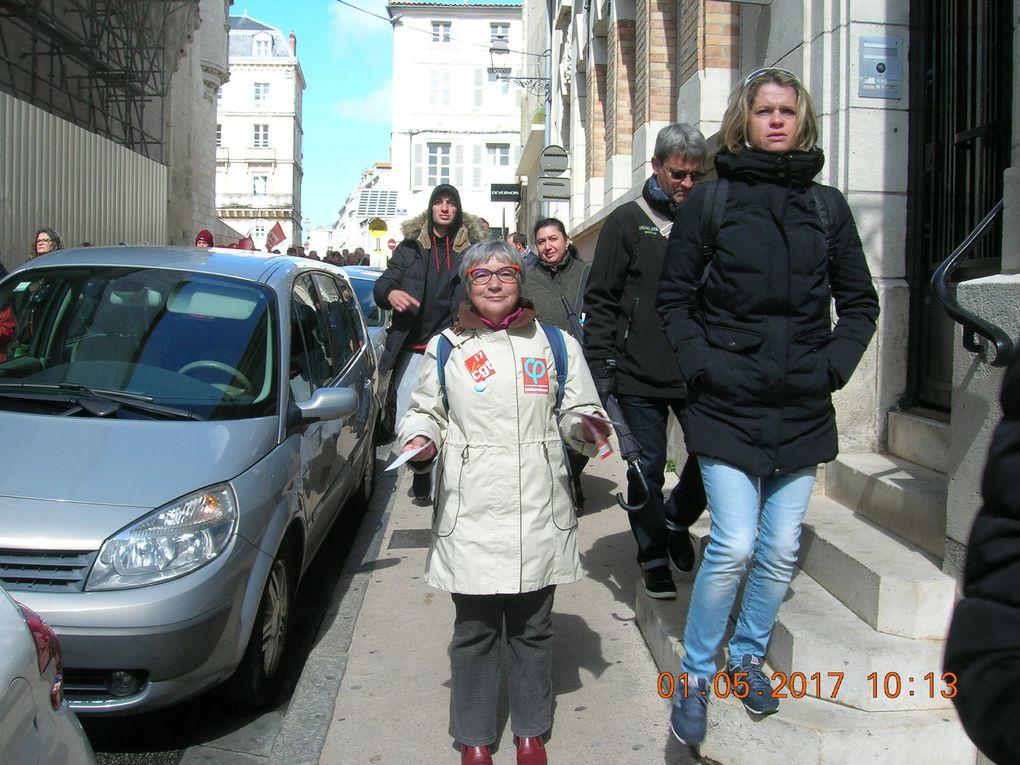 Le 1er mai 2017 des insoumis rochelais ! Rassemblement et combativité !