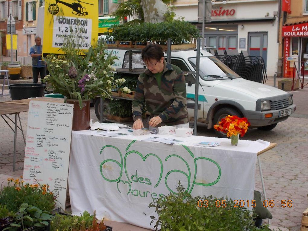 Foire aux plants de Gonfaron le 3 mai 2015