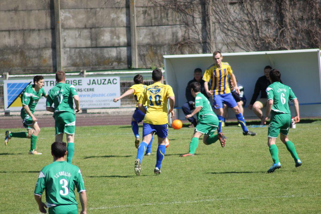 Photos du match 1/3