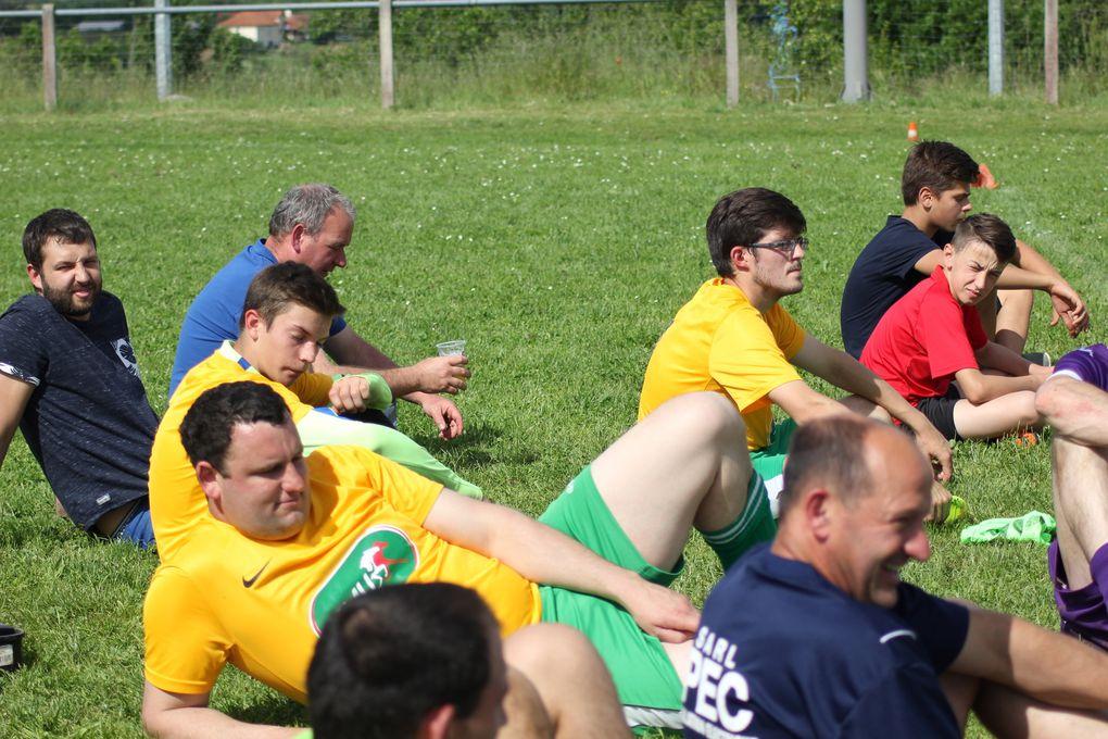 Le tournoi (5 équipes, 10 matchs, 40 joueurs)
