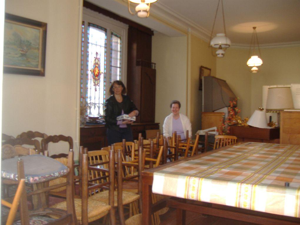 Collecte Maison de Retraite de Rogerville - le matin du 23 mai 2014