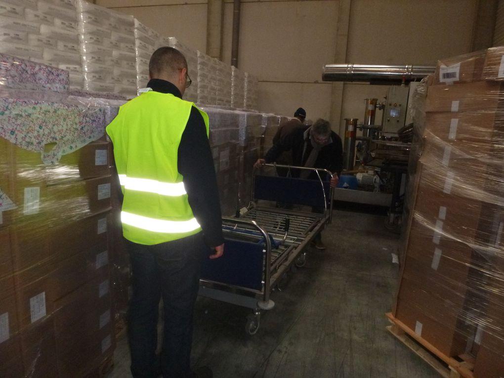 15 décembre 2016 - Une nouvelle collecte de matériel pour les structures hospitalières de Gabès