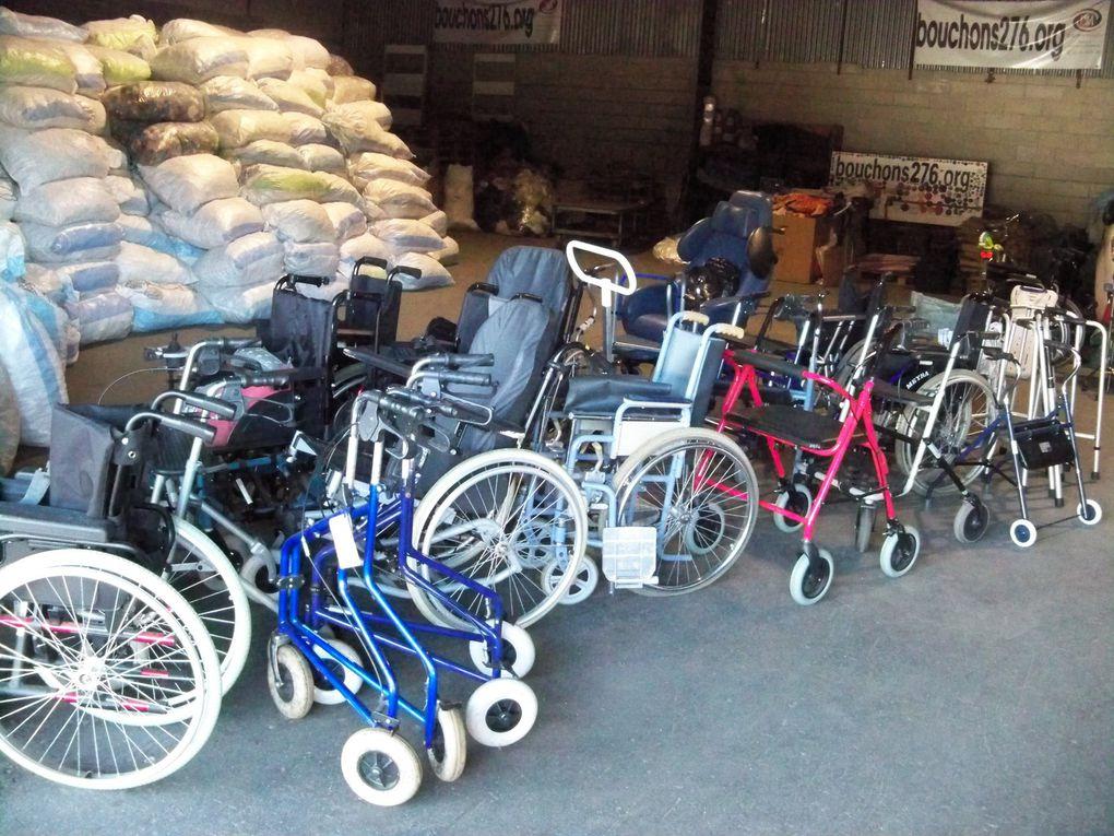 1er juin 2017 - Collecte pour les personnes à mobilité réduite
