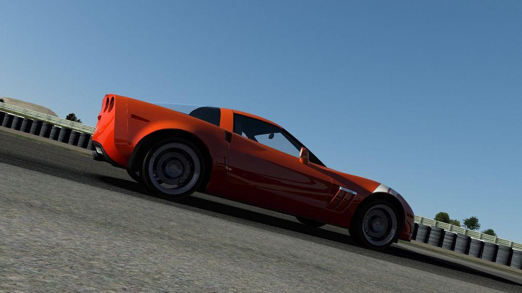 rFactor 2 : Corvette C6 disponible !