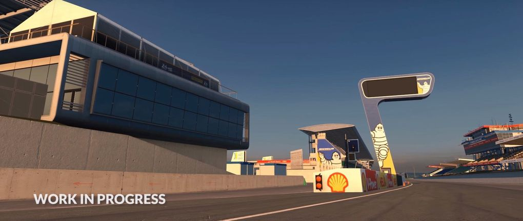 iRacing : circuit Le Mans disponible !