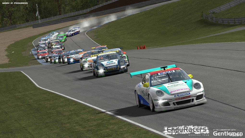 rFactor 2 Mod Flat6 Series 2.0 disponible !