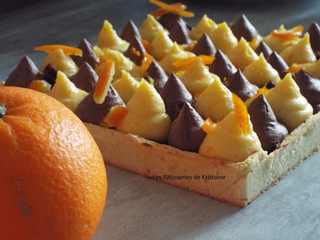 Tarte Chocolat-Orange