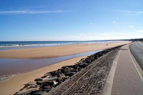 Plage à marée haute   - Plage basse mer   - Les étendues de sable
