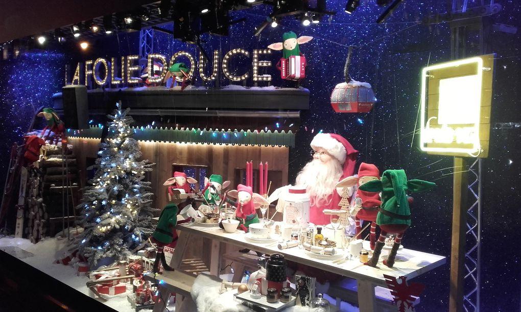 Vitrines de Noël 2016 à Paris