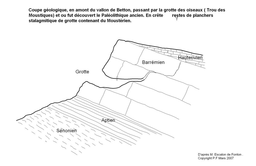Animation de la coupe géologique