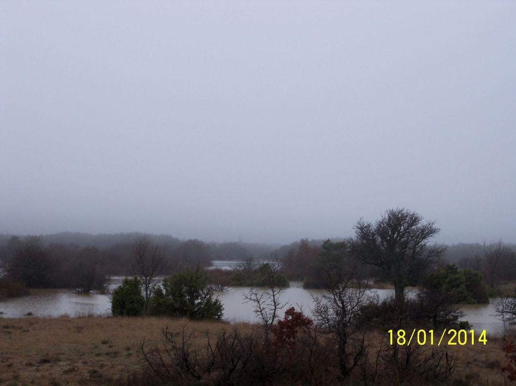 Lac de la Grande Tourne le 18 Janvier 2014