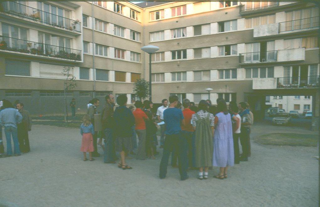 Les camps d'évangélisation