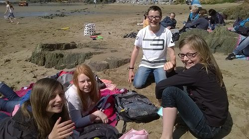 Comenius on the beach