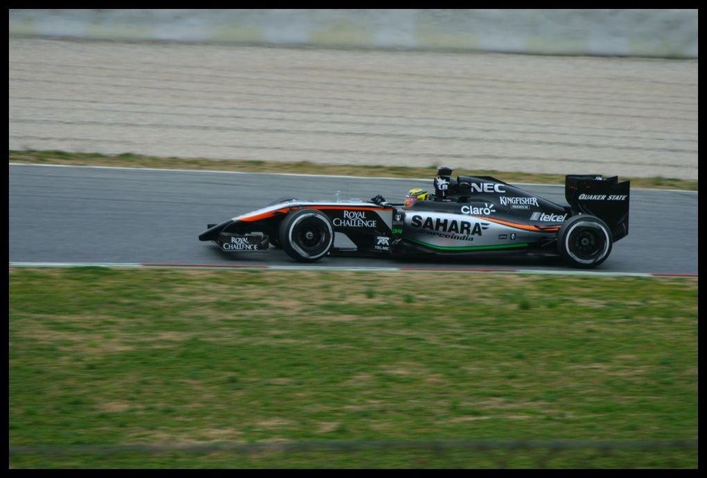 Formula One Test Days Barcelone 2015
