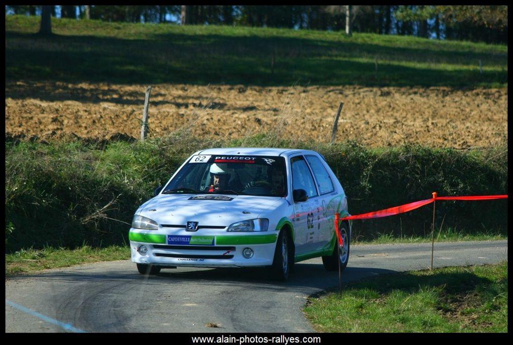 Rallye régional comptant pour la coupe de France des rallyes 2016 et pour le comité d'Aquitaine.