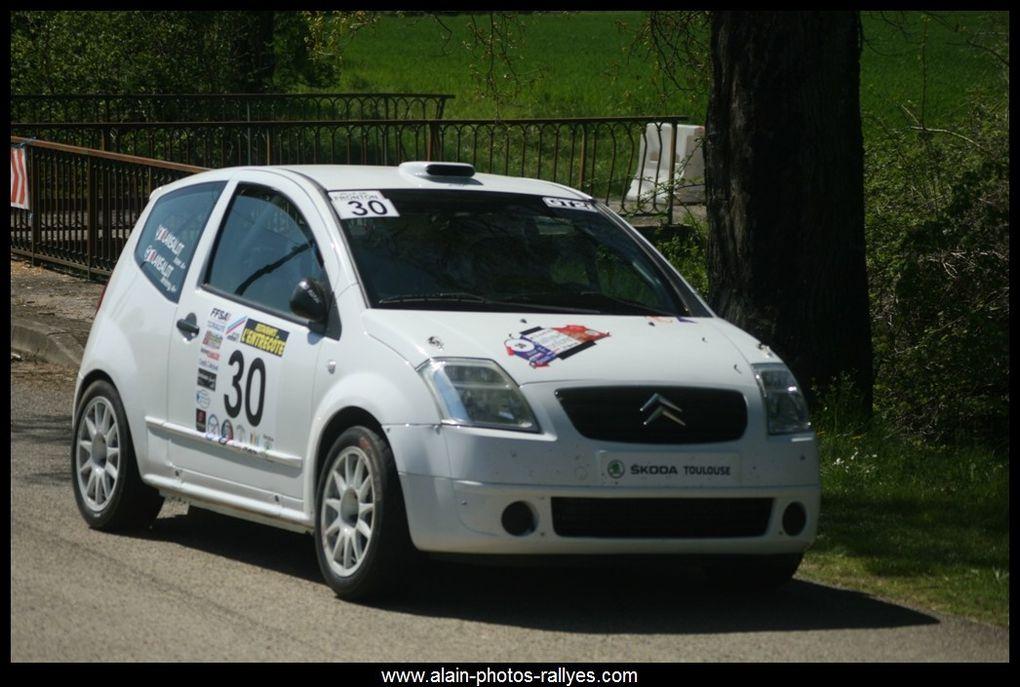 Rallye régional comptant pour la coupe de France 2017 et pour le comité Midi Pyrénées