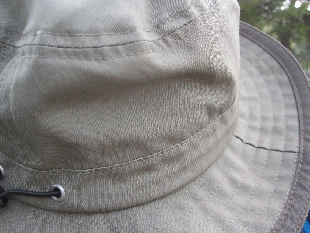 les chapeaux en rando
