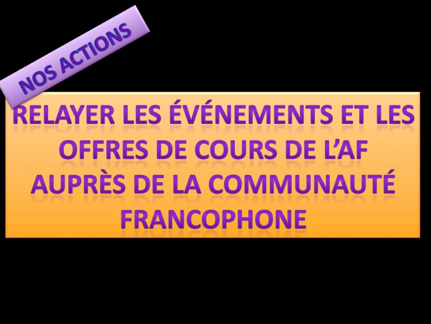 Les amis de l'alliance française : une spécificité wuhanaise !