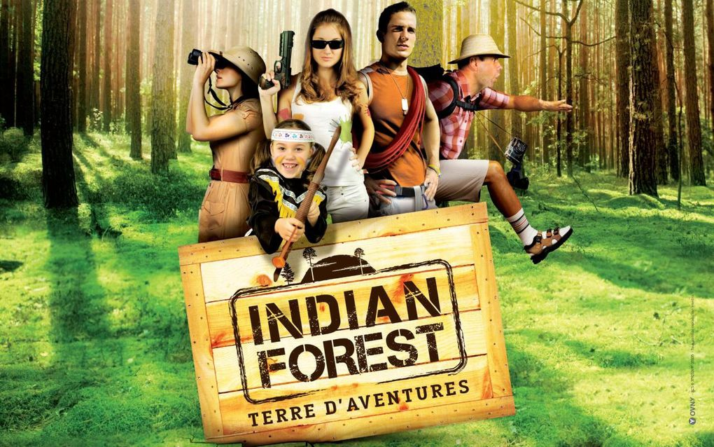 Indian Forest, parc d'attraction, parc de loisir, animation Vendée, Moutiers-les-Mauxfaits