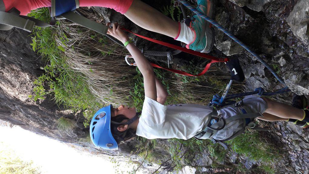 Un samedi via et escalade à l'Alpe du Grand Serre avec nos grimpeurs!