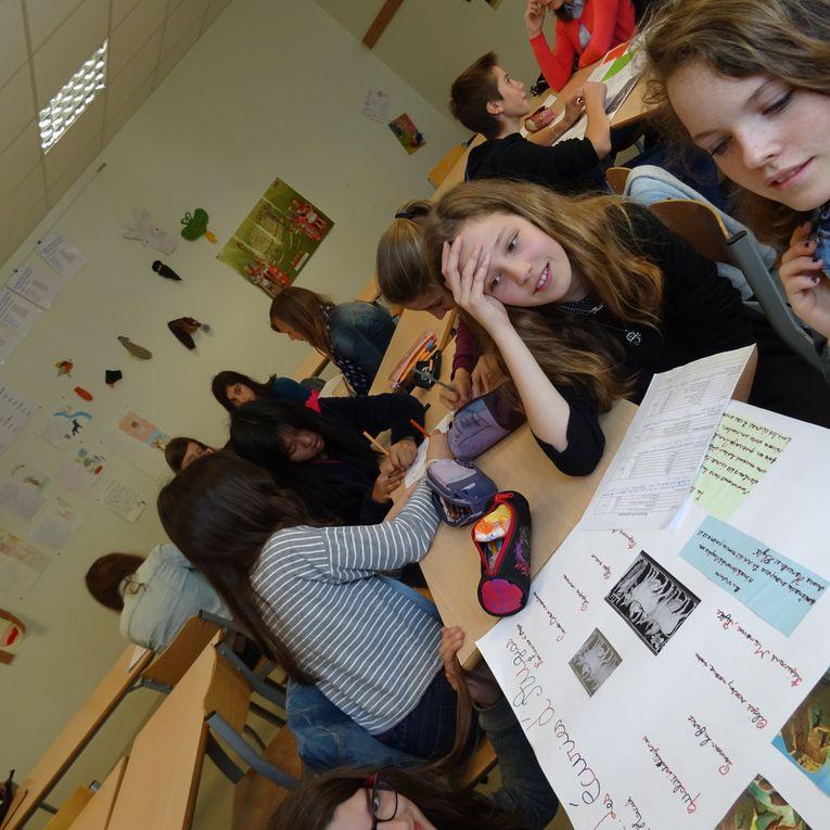 Projet échange avec l'école des Sapins autour d'Hercule 2016